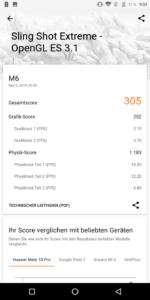 Vernee M6 3D Mark