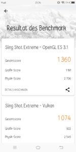 Vivo X20 3D Mark
