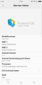 Vivo X20 Funtouch OS