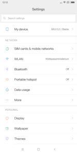 Xiaomi Mi 6X System MIUI Android 8 5