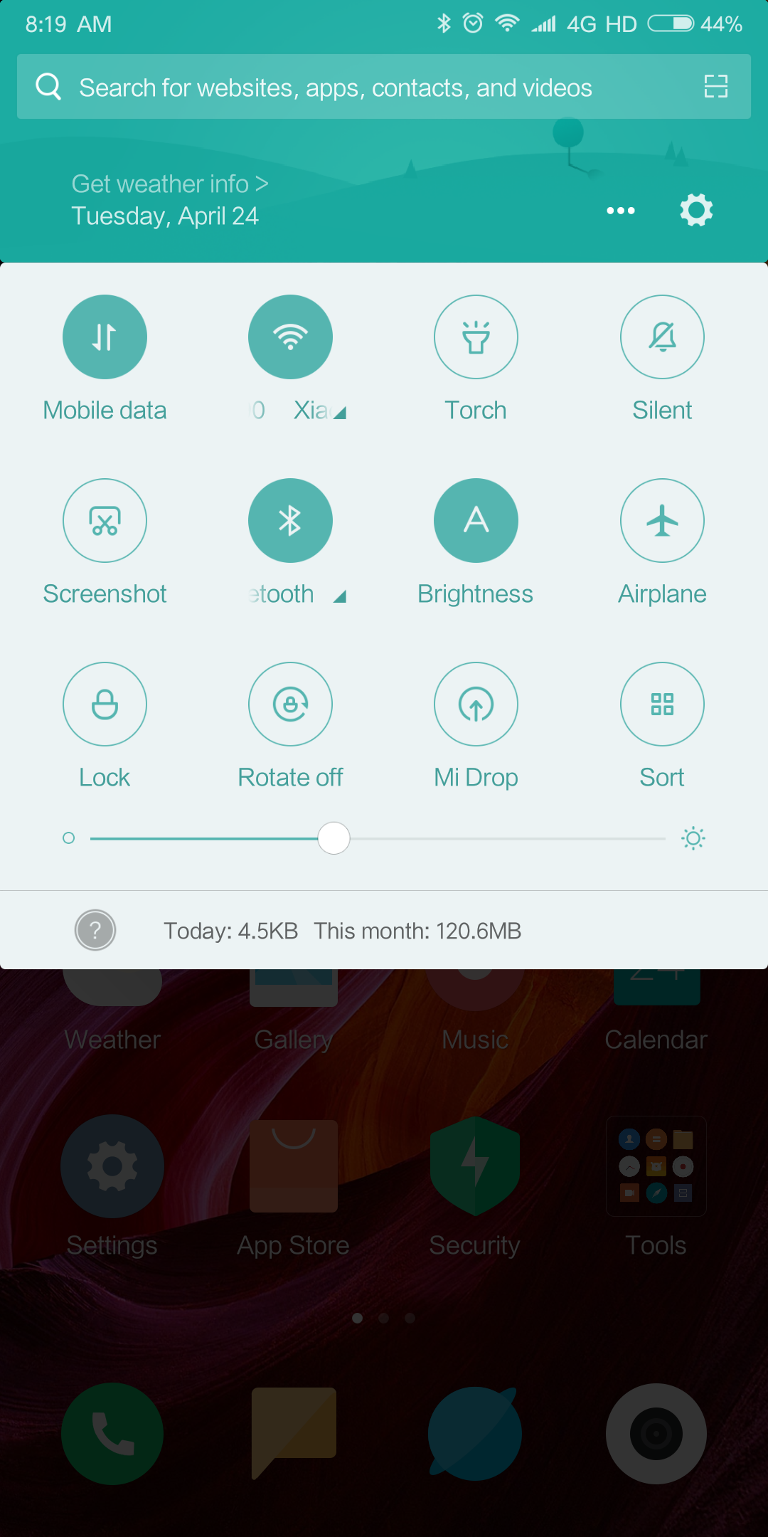Xiaomi Mi Mix 2S MIUI System Android Oreo 8 1