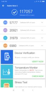 Antutu Benchmark Xiaomi Redmi Note 5