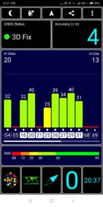 Xiaomi Redmi Note 5 GPS Test 1