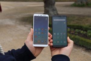 Xiaomi Redmi Note 5 vs. Redmi 5 Plus 2