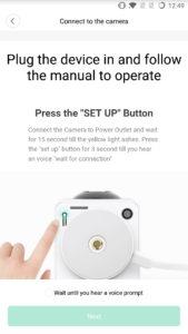 Xiaomi DaFang Einrichtung Mi Home und Menü 3