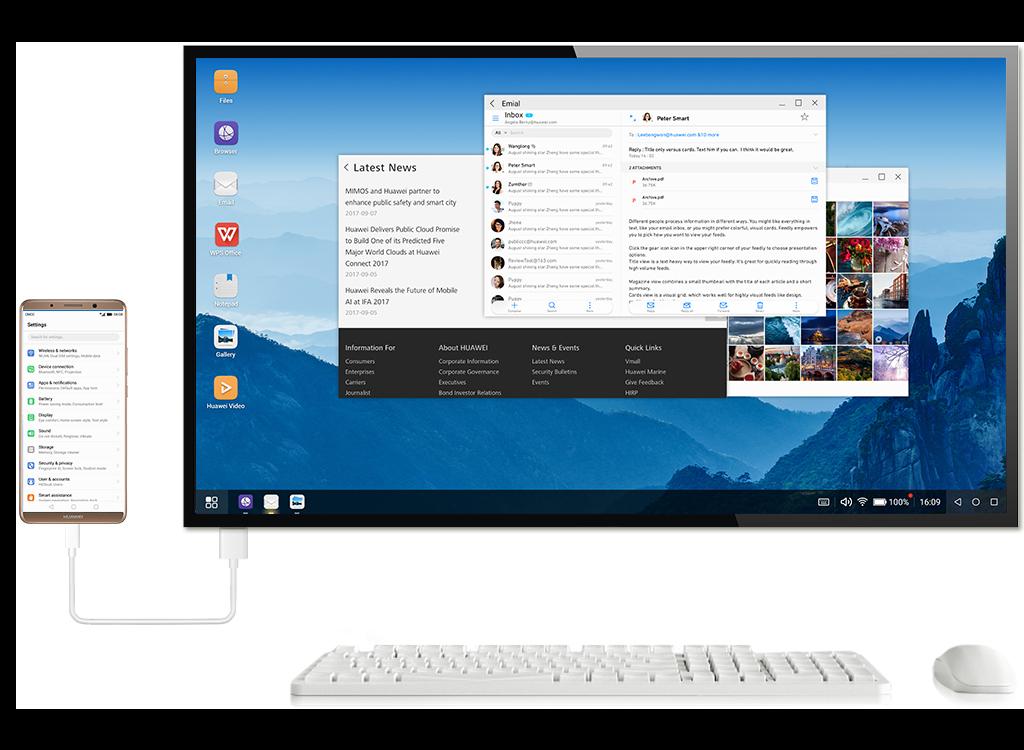 Emui 8 Desktop