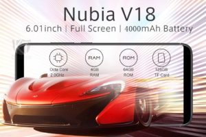 Nubia V18 Ankündigung 10