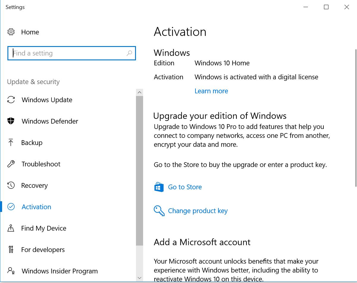 Windows 10 Aktivierung Teclast F7