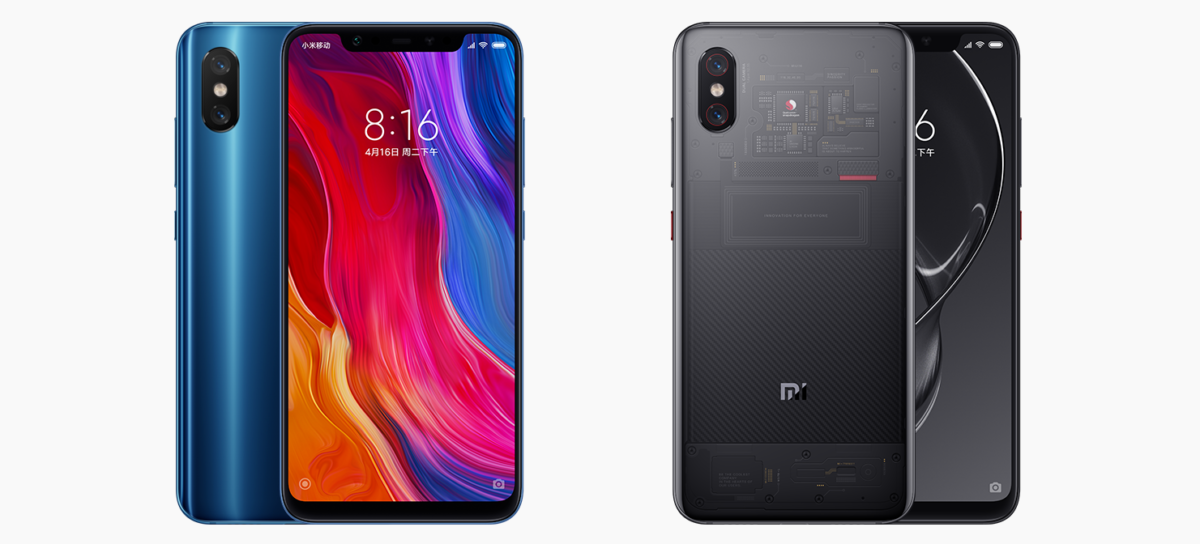 Xiaomi Mi 8 und Mi 8 Explorer Edition