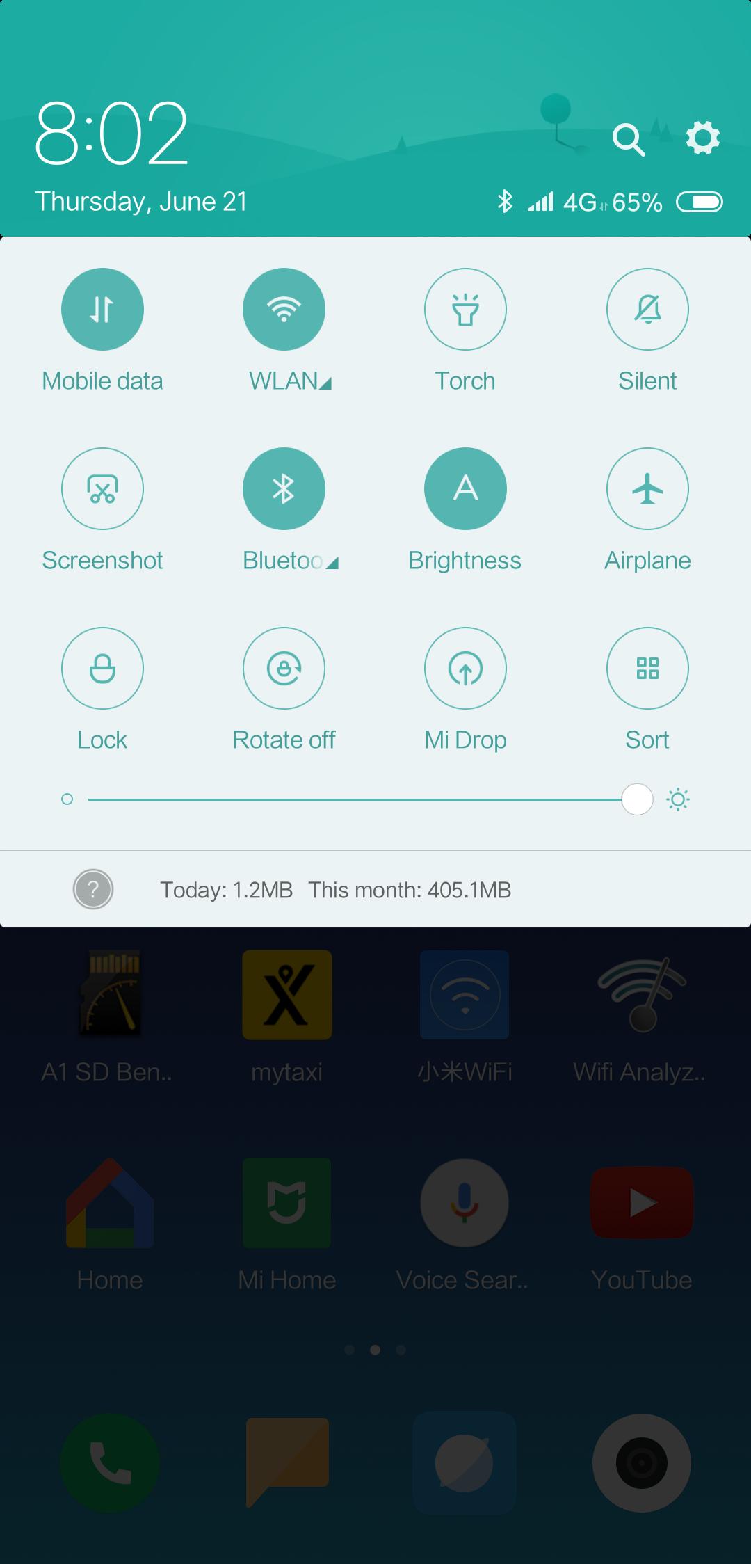 Xiaomi Mi8 MIUI 10 1