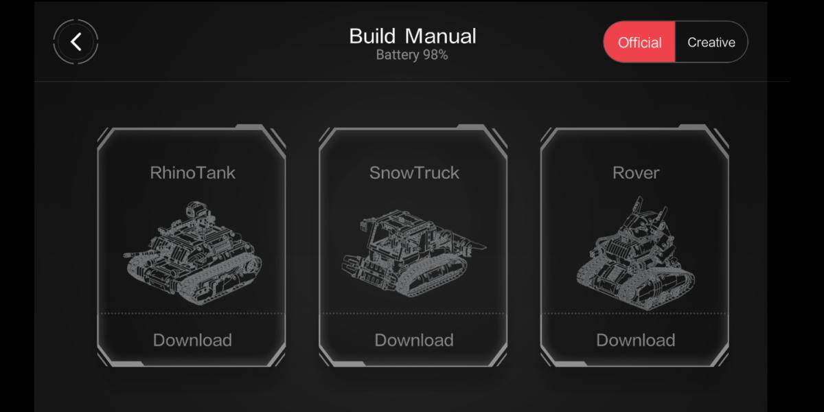 Offizielle Modelle für den MiTu Rover