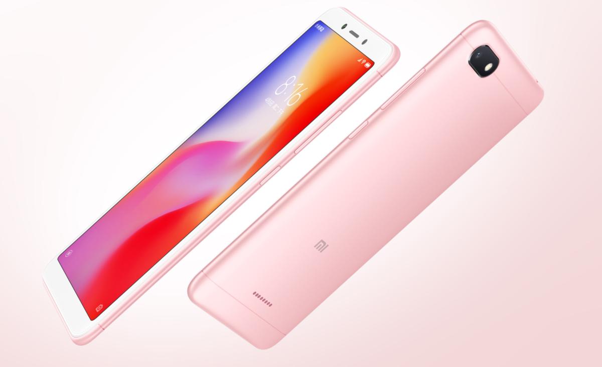 Xiaomi Redmi 6a Design