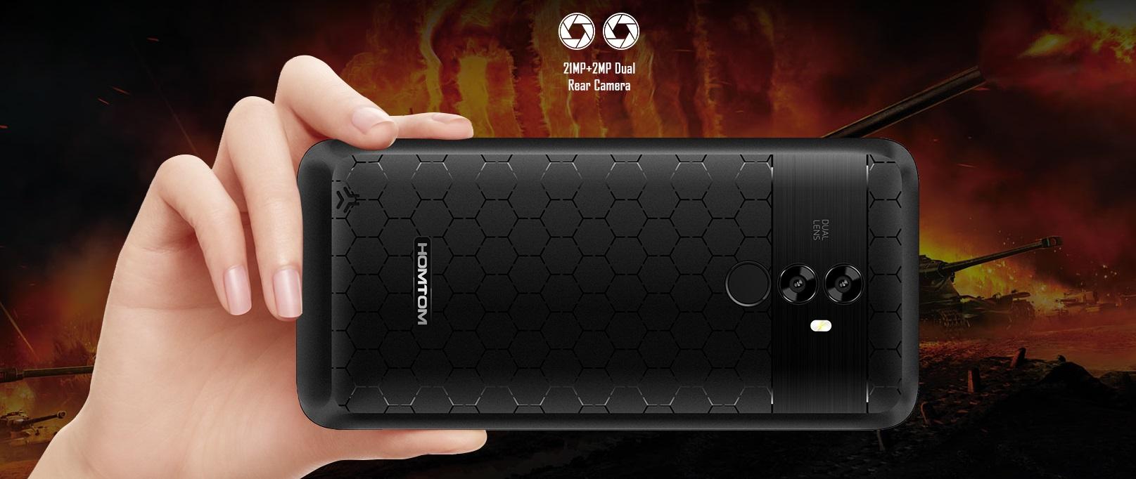 Homtom S99 Dual Kamera