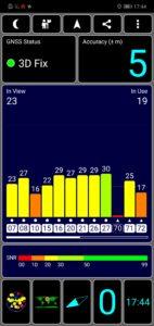 Honor 10 Testbericht Screenshot GPS