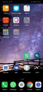 Honor 10 Testbericht Screenshots EMUI 5