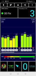 OnePlus 6 Testbericht Screenshot GPS Empfang