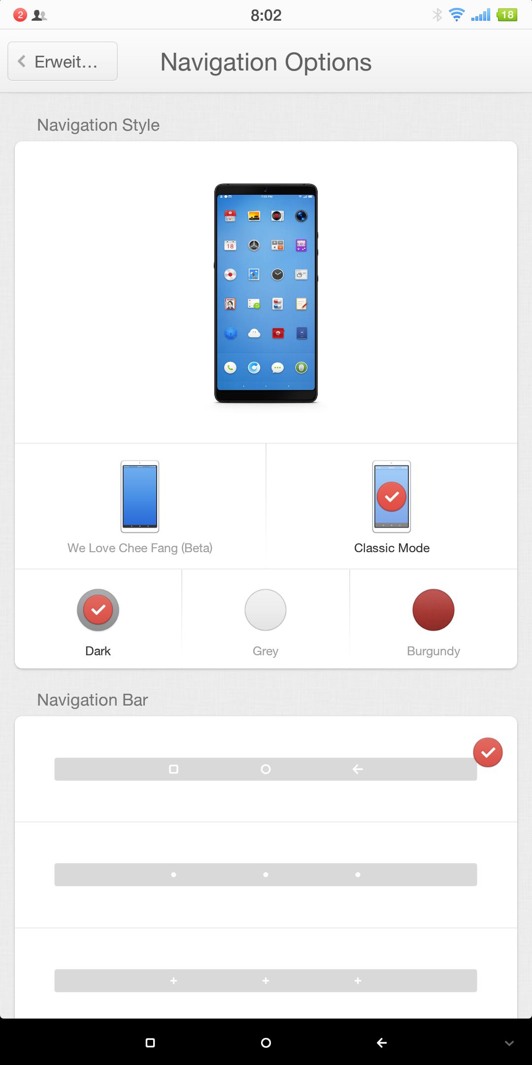 smartisan nut pro 2 OS Navigation