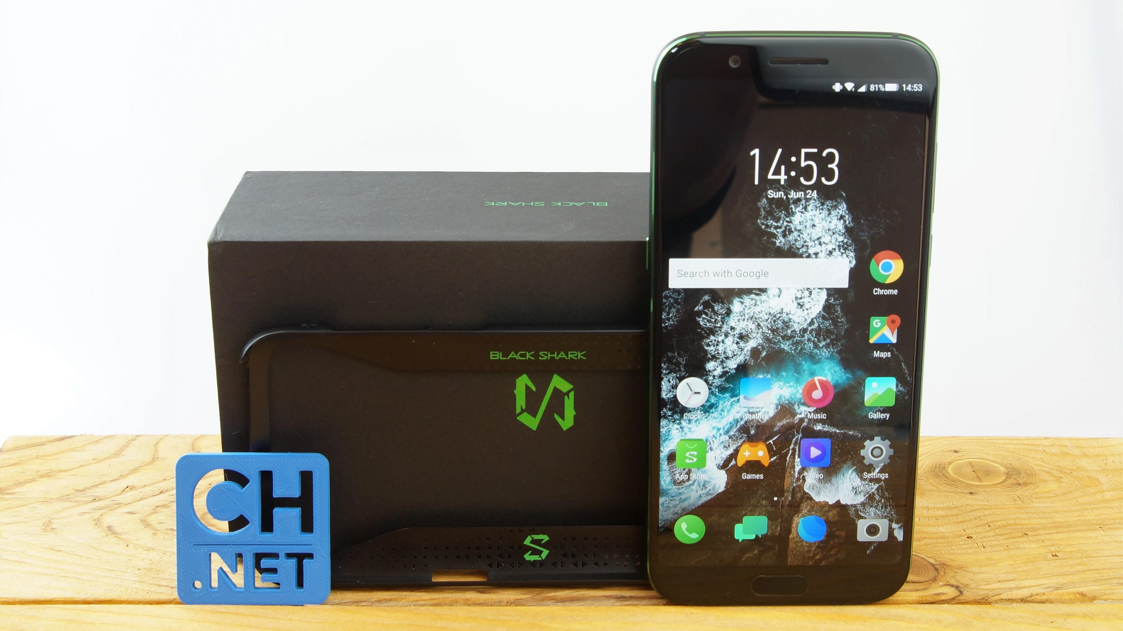Xiaomi Blackshark Testbericht Gaming Smartphone Produktfotos 1 Kopie