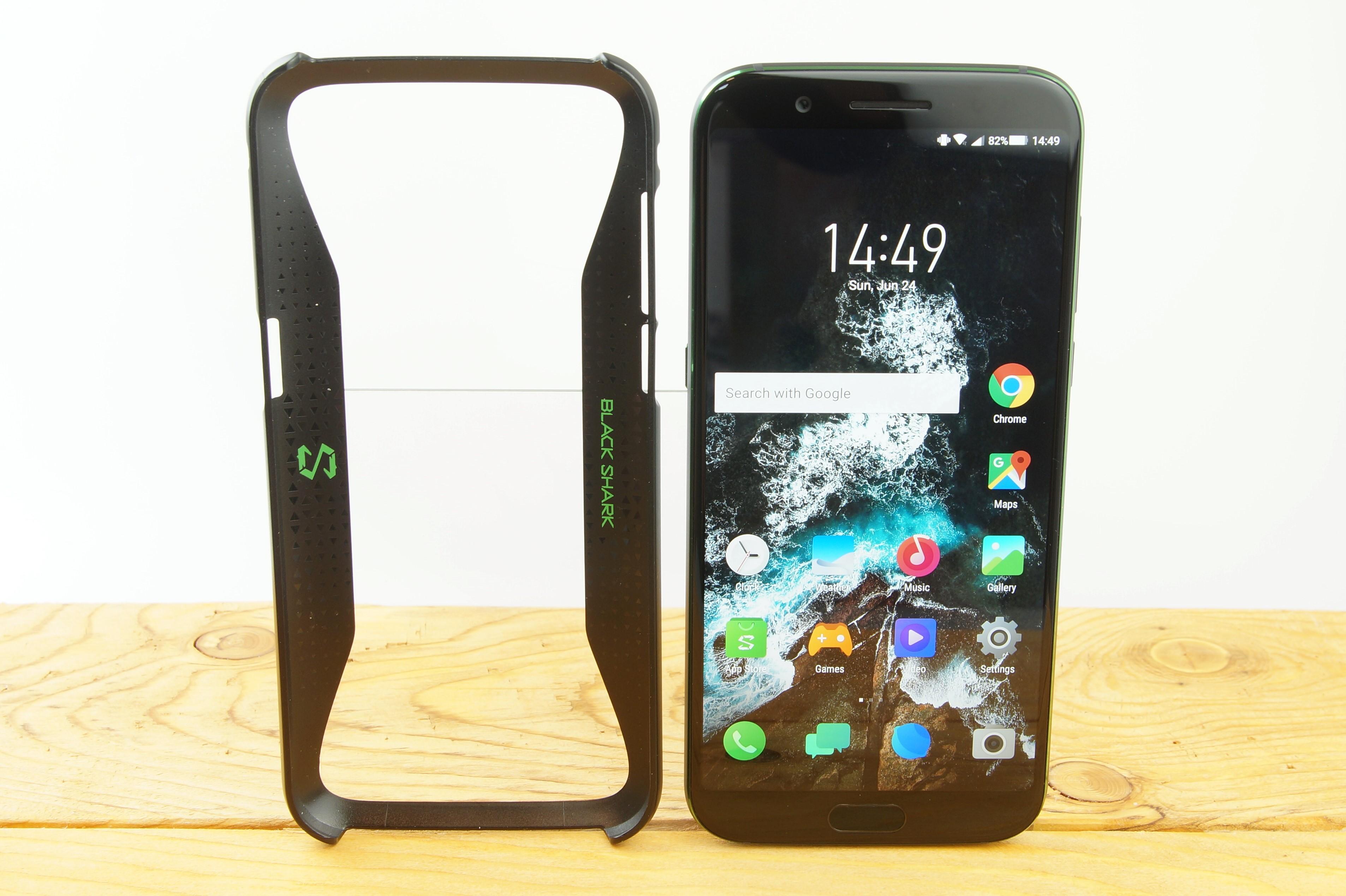 Xiaomi Blackshark Testbericht Gaming Smartphone Produktfotos 7