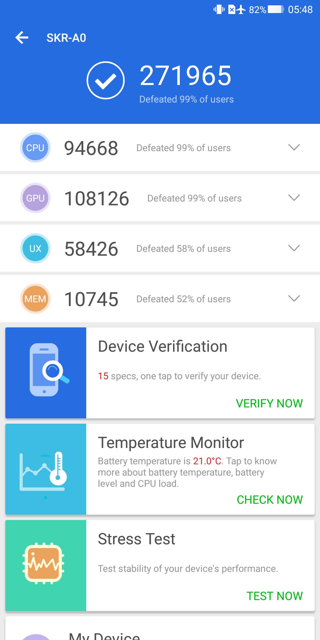 Xiaomi Blackshark Testbericht Gaming Smartphone Screenshot Benchmark 2