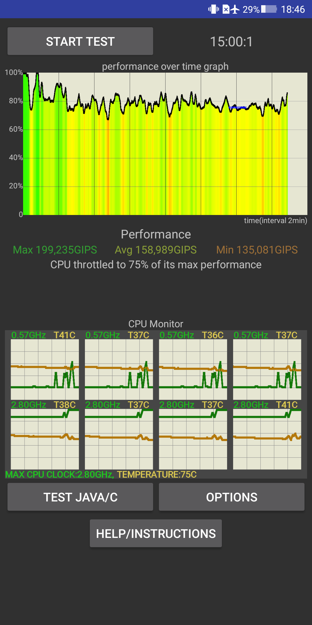 Xiaomi Blackshark Testbericht Gaming Smartphone Screenshot Benchmark 3