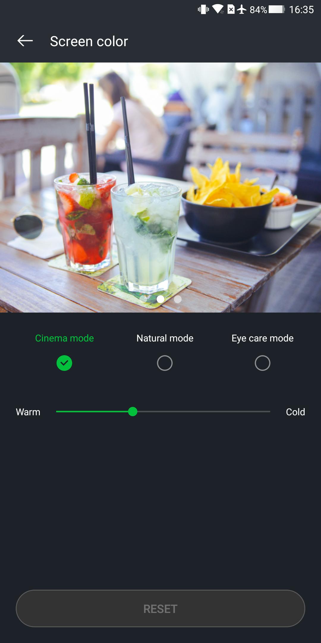 Xiaomi Blackshark Testbericht Gaming Smartphone Screenshot Display