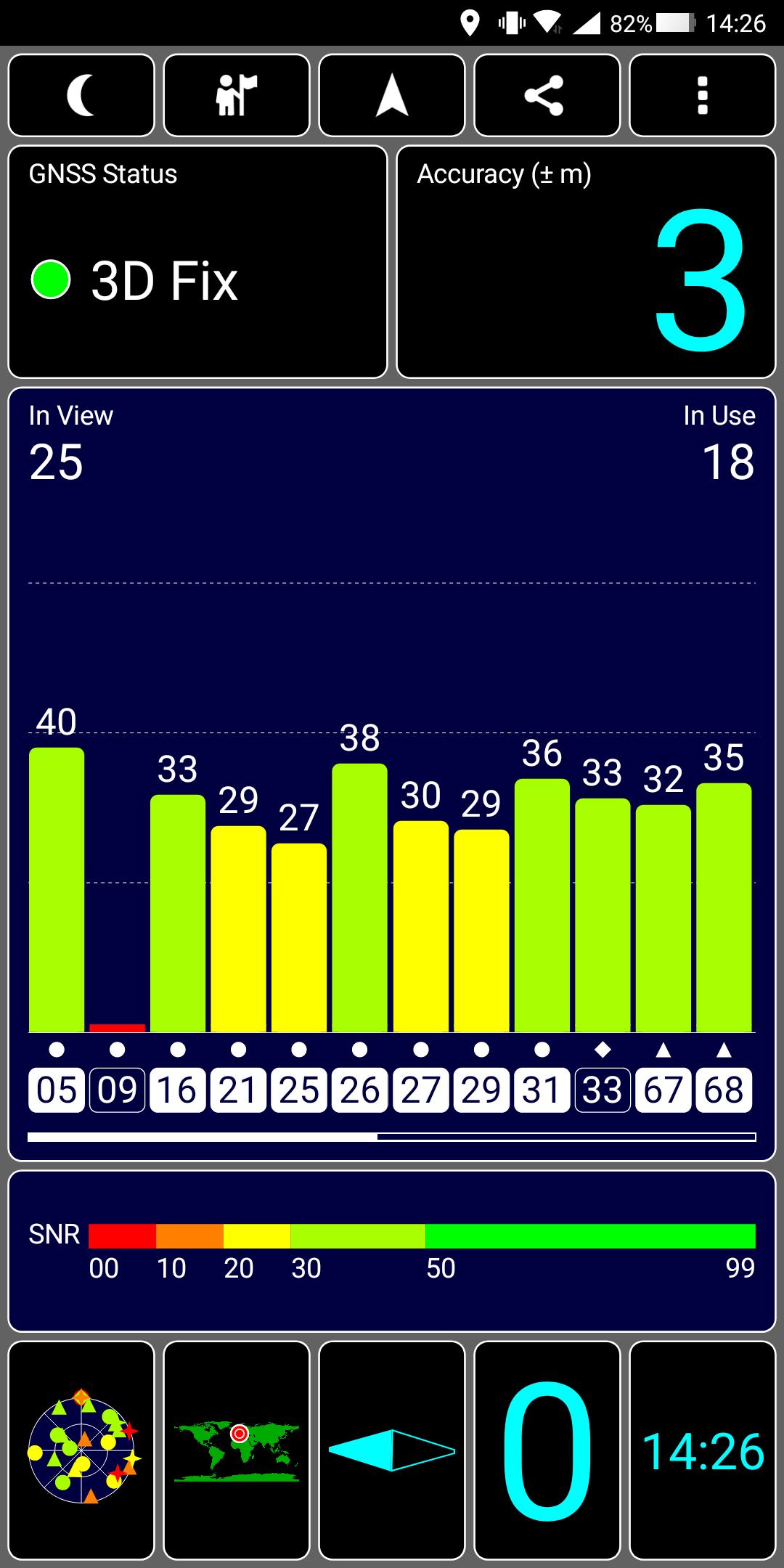 Xiaomi Blackshark Testbericht Gaming Smartphone Screenshot GPS