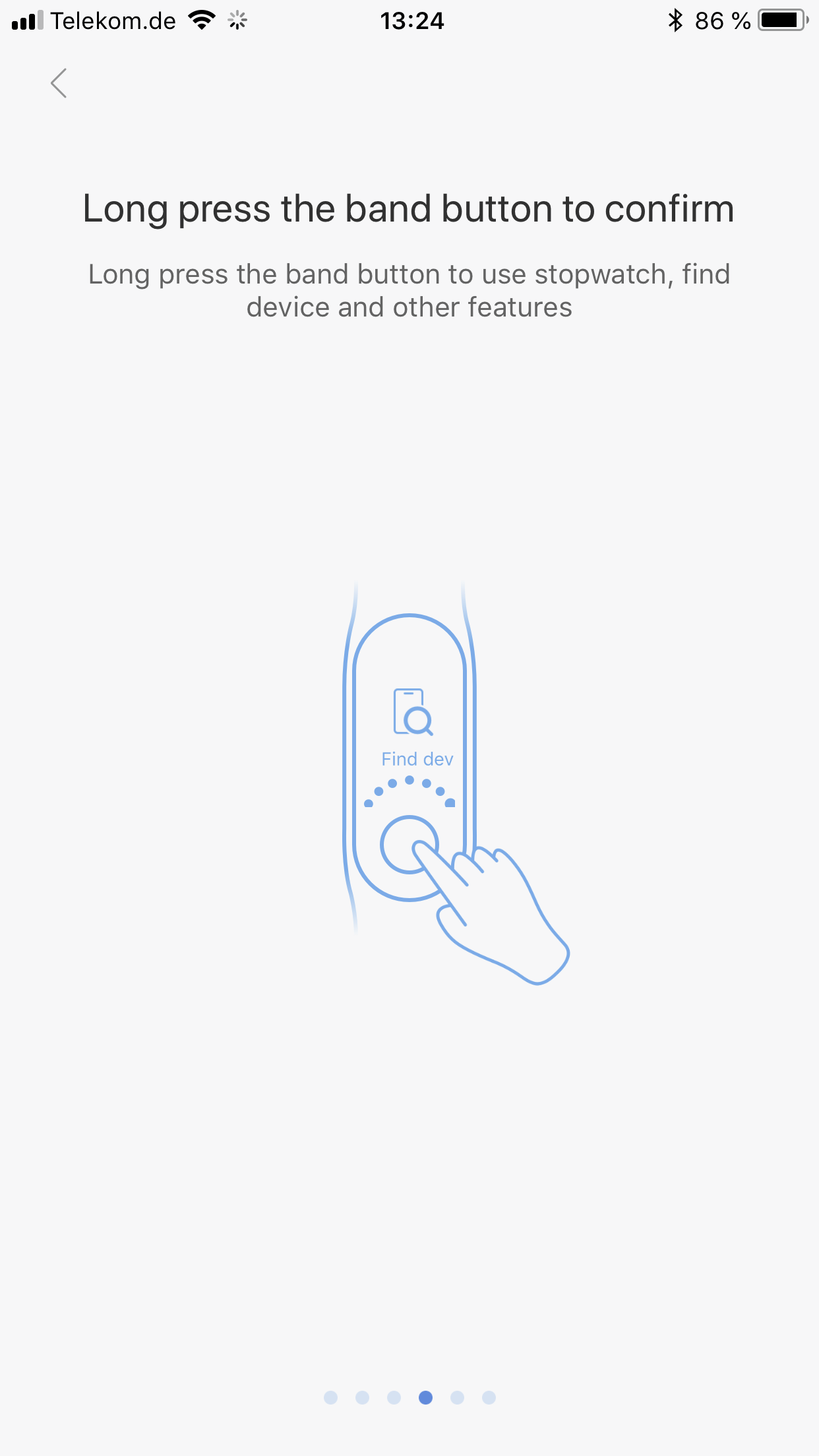 Xiaomi Mi Band 3 Testbericht Bedienung Gesten 3
