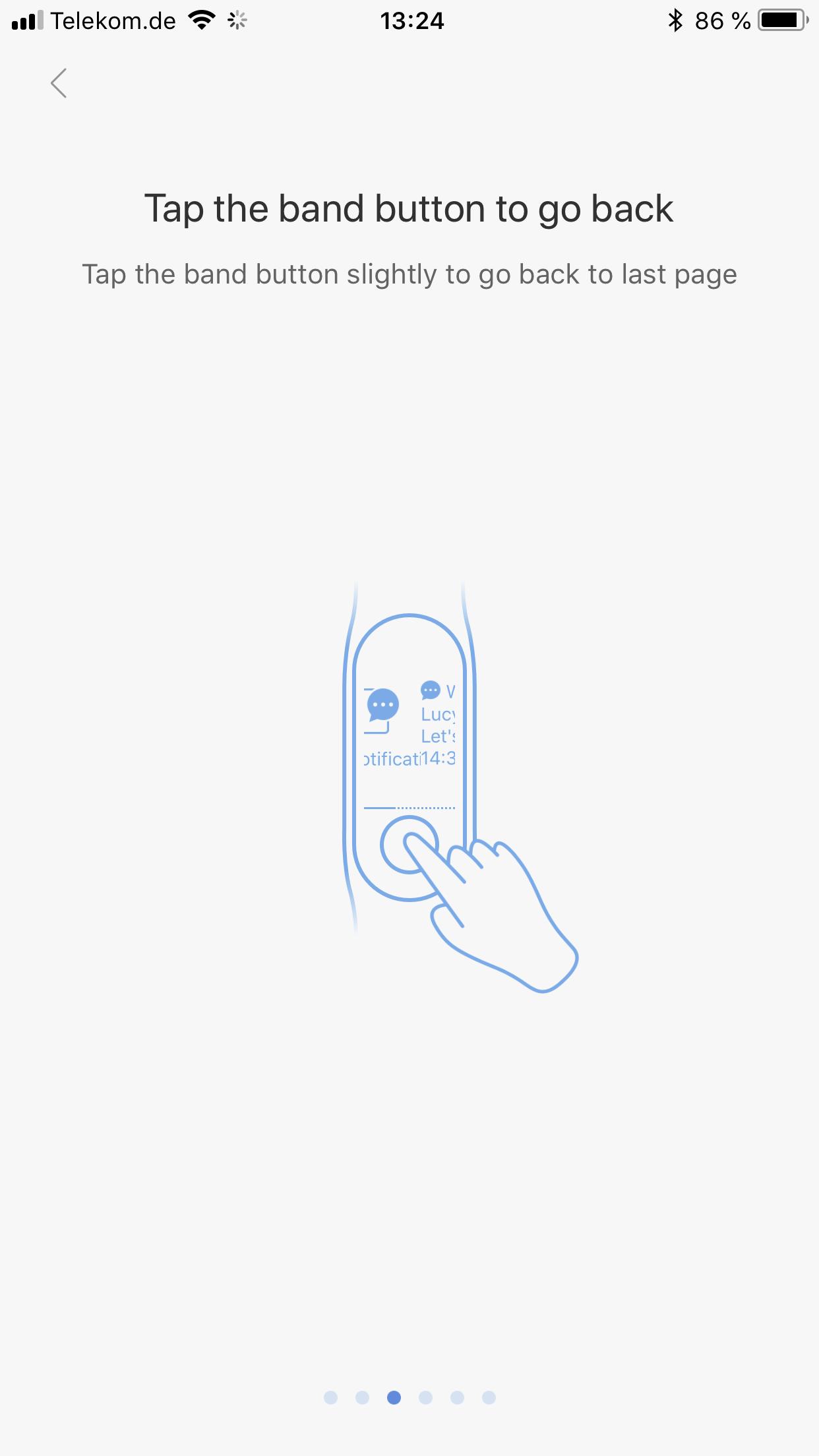 Xiaomi Mi Band 3 Testbericht Bedienung Gesten 4