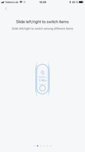 Xiaomi Mi Band 3 Testbericht Bedienung Gesten 5