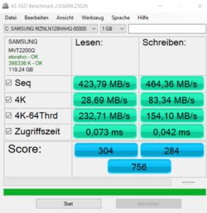 Xiaomi Mi Gaming Notebook Testbericht Benchmarks 1