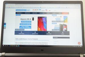 Xiaomi Mi Gaming Notebook Testbericht Gerät Produktfotos 24