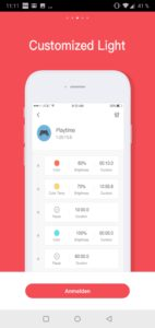 Yeelight 2nd Generation Smart Bulb Glühbirne Testbericht Screenshot Yeelight App Google Smart Home 3