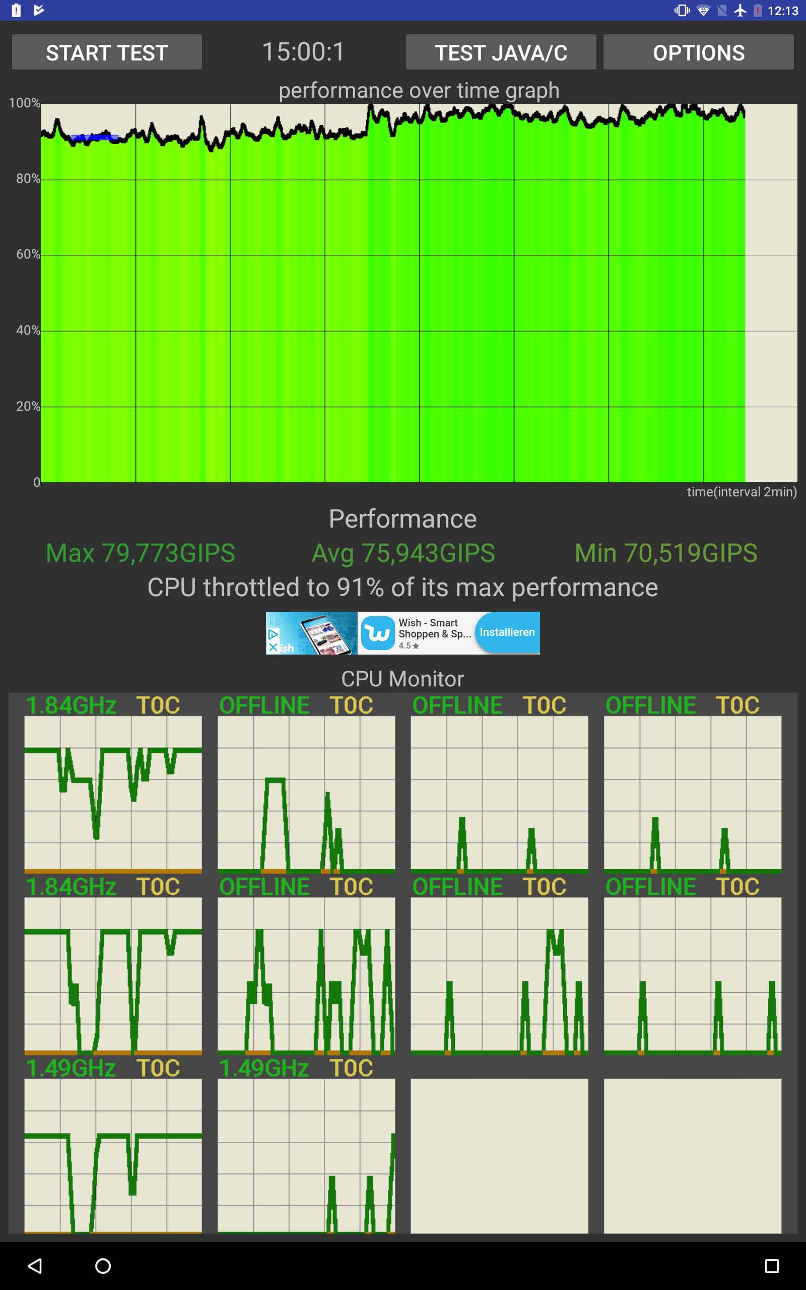Chuwi Hi9 Air Testbericht Benchmarks 1