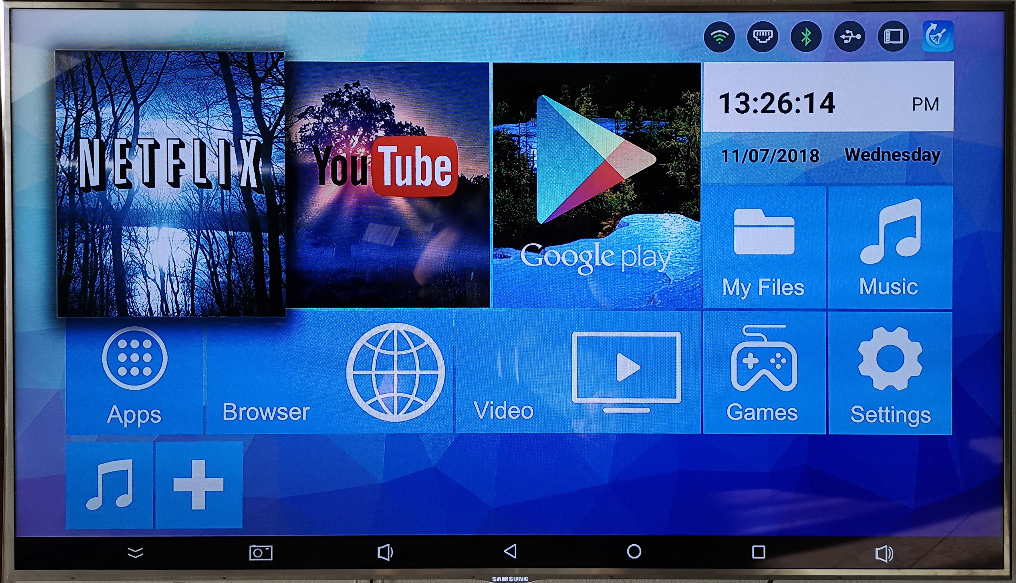 asdomo H96 MAX 2 GB 16 GB Android 9.0 TV-Box 4 K HD Smart Network Media Player