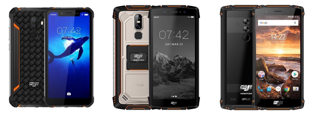 HomTom ZOJI Z9 Ankündigung Outdoor Smartphone 15