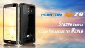 HomTom ZOJI Z9 Ankündigung Outdoor Smartphone 2