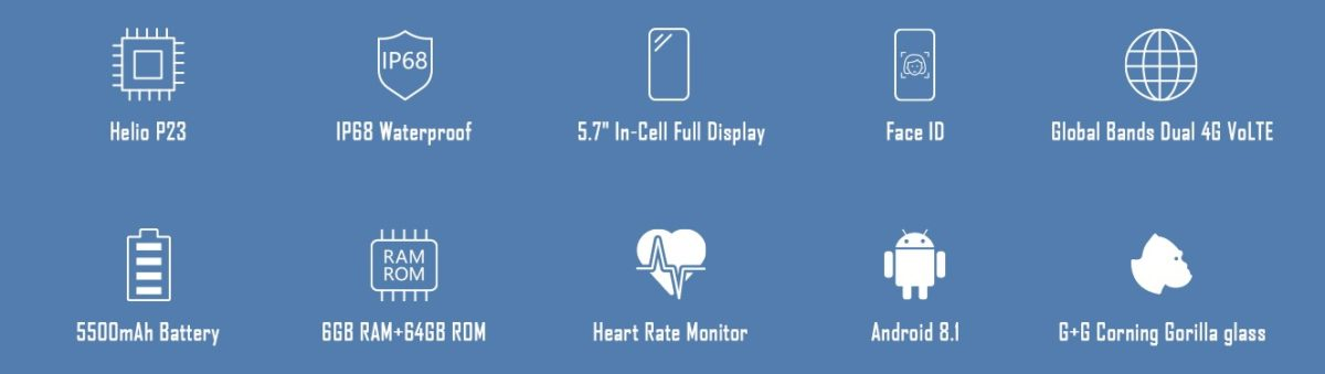 HomTom ZOJI Z9 Ankündigung Outdoor Smartphone 3