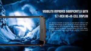 HomTom ZOJI Z9 Ankündigung Outdoor Smartphone 4