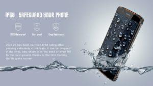 HomTom ZOJI Z9 Ankündigung Outdoor Smartphone 5
