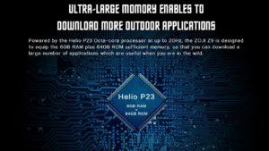 HomTom ZOJI Z9 Ankündigung Outdoor Smartphone 7