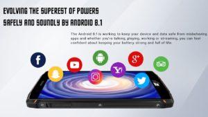 HomTom ZOJI Z9 Ankündigung Outdoor Smartphone 8
