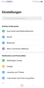 Nubia Z18 User Interface 2