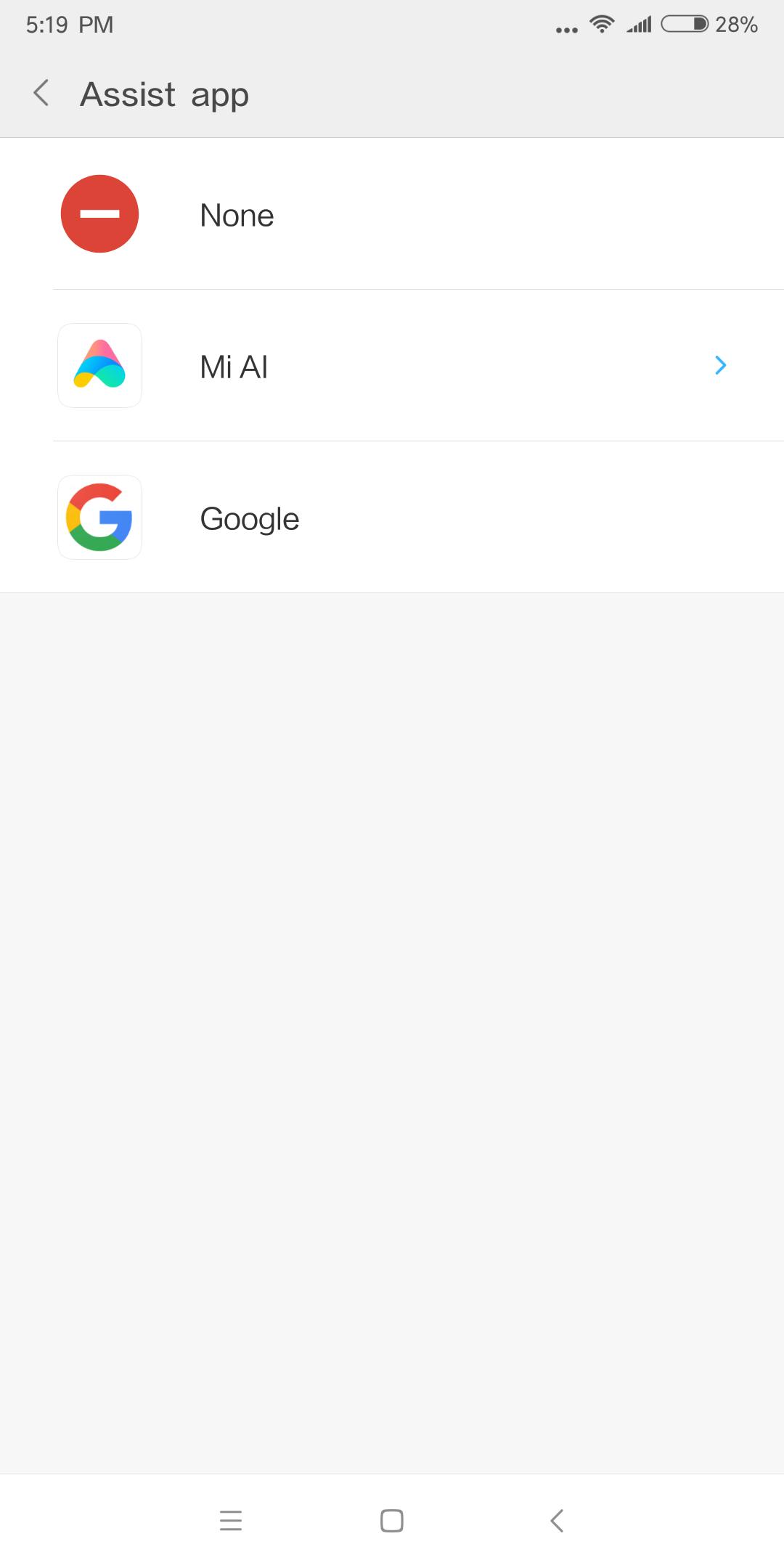 Xiaomi Mi Max 3 ai assistent