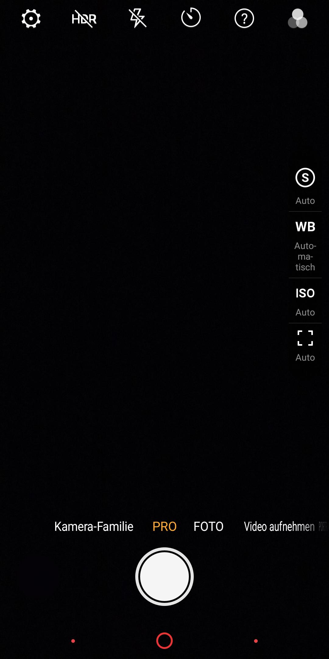 Nubia Z18 Mini Camera UI 2