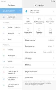 Xiaomi Mi Pad 4 Testbericht 8 Zoll Tablet MIUI Android 2