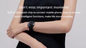 Xiaomi Mijia Quartz Smartwatch Pedometer White 20180720112221828