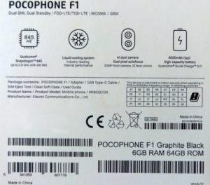 Xiaomi Pocophone F1 neu 1