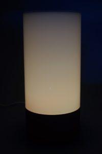 Yeelight Mi Bedside Lamp Testbericht Licht 1