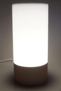 Yeelight Mi Bedside Lamp Testbericht Licht 7
